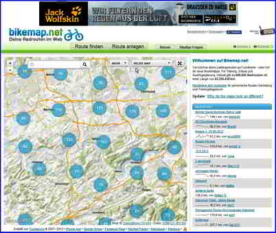 01 bikemap_startseite