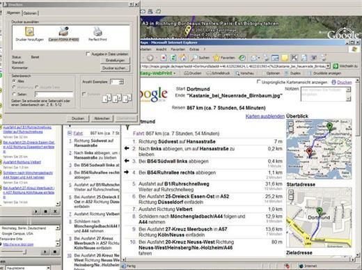 Geotags mit locr und Reiserouten mit GoogleEarth