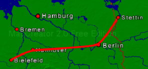 Gerold Dreyer - Foto, Reiserouten mit MapCreator