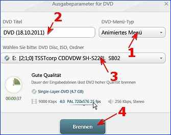 freemake video converter dvd brennen
