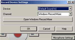 14 Mikrofon Settings-