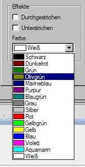 5c Schriftfarbe-