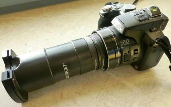 Kameravorsatz digitalisierer