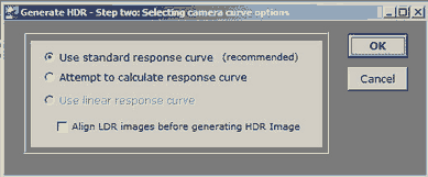 19 photomatix Generate HDR 2. Schritt