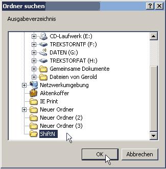 ShiftN-ausgabeverzeichnis 2