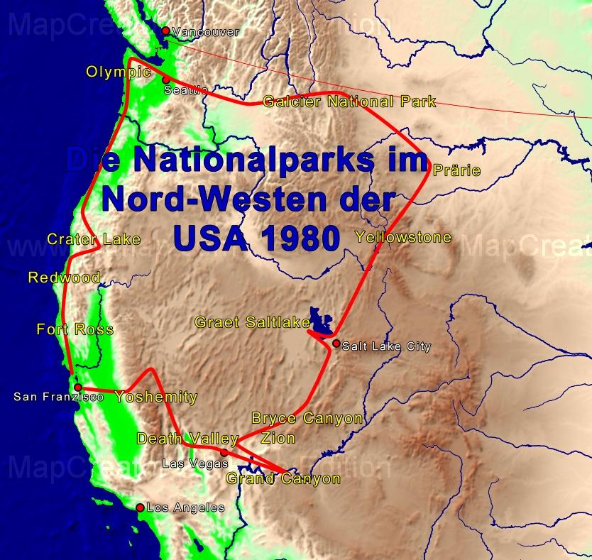 Reisebilder Ueber Den Nordwesten Der Usa