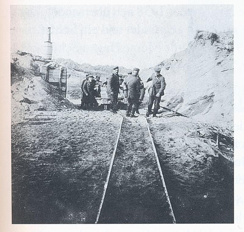 0045c Sandauskofferung in der Gefangenenkuhle am T-Kanal-Weg, heute Amselweg in mullberg