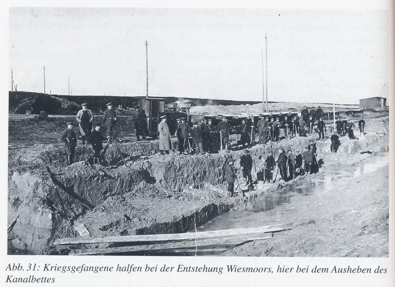 0045cd kriegsgefangene 1. Weltkrieg beim kanalbau