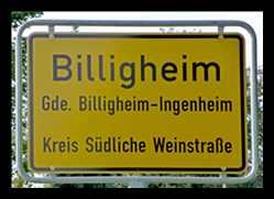 Billigheim in der Pfalz